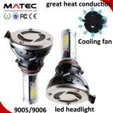 Linterna H1 H7 H11 H4 9005 del coche del LED linterna de 9006 40W LED para los coches