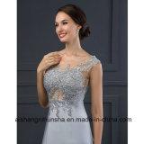 Il merletto Appliques il vestito da cerimonia nuziale elegante della sirena del vestito convenzionale