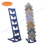 Showroom multicapa suelos de baldosas cerámicas de estructura metálica para rack de mostrar a la venta