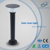 Lampe solaire de pelouse de la fonte d'aluminium DEL pour le jardin