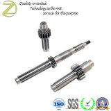 高精度標準外CNCの機械化の金属シャフト
