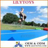 Inflable torre con blob / agua flotante juguetes / pequeño parque acuático para niños