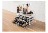 4 - Tiroir clair/boîte présentation cosmétique acrylique de rose
