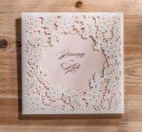 La carte faite sur commande d'invitation de mariage d'impression avec enveloppent
