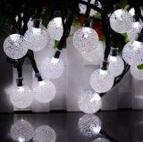 太陽ランプストリング泡球のクリスマスの装飾ランプストリングライト