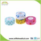 Fasciatura elastica coesiva non tessuta di consegna del controllare della fasciatura veloce dell'involucro