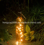 [هيغقوليتي] [فر سمبل] عيد ميلاد المسيح زجاجيّة [وين بوتّل] ضوء لأنّ عيد ميلاد المسيح زخرفة