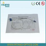 accoppiatori ottici della fibra di 5:95 di 1X2 LC/PC, fibra rivestita resa resistente di 0.9mm