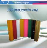 Vinil da transferência térmica do PVC da venda direta da fábrica para a matéria têxtil