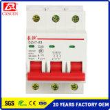 MCB 6k, 1P a 4p, 100V/230V/400V, Ce RoHS SGS ISO9000 ISO14000, la fábrica directo de Ventas