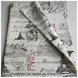 [لينن] [فيسكس] يطبع بناء لأنّ فنية قماش, [تبل كلوث], يمدّن [كنفسس.]