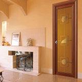 Puerta de madera del cuarto de baño del grano del precio competitivo