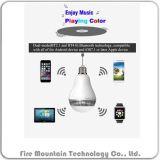 Dp-LED Lâmpada portátil Bluetooth APP falante remoto