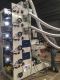 La flexographie Machine d'impression 5 couleurs avec 2 UV