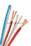fios paralelos do altofalante 12AWG com listra colorida (2 núcleos)