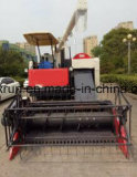 米の収穫機、ムギの収穫機の製品はKubotaの米の収穫機を好む