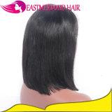 Бразильские волосы девственницы парик фронта шнурка Bob 12 дюймов прямой