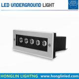 Indicatore luminoso sotterraneo esterno di illuminazione 12W LED di vendita calda in IP65
