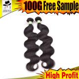 インドの毛の深い編むRemyのヘアケア製品