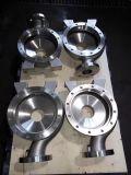 St52 Q345bの高品質の鋳造の持ち上がる鋼鉄車輪