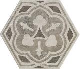 Azulejo de suelo antideslizante de la porcelana del modelo del cemento del material de construcción del hexágono 260*300m m