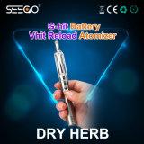 De beste Verkopende Pen van de Damp van de Uitrusting van de Sigaret van de Gezondheid Seego Elektronische voor Essentieel Droog Kruid