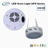 고품질 25*3W UFO 시리즈 LED는 실내 야채를 위해 가볍게 증가한다