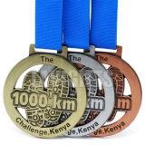 Medalla antigua finalmente procesada de la concesión del bronce del cobre de la plata del oro