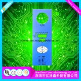 Interruttore Non-Tattile della tastiera della membrana con il comitato di Alu per la strumentazione di forma fisica