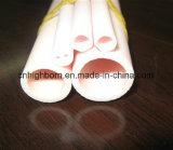 Due tubi di ceramica elettronici dell'isolante della steatite dei fori