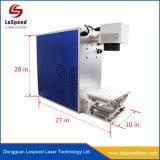 Laser die van de Vezel van de Telefoon van het Metaal van Ce de Draagbare Gouden Zilveren Machine merken