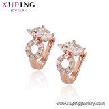 26490 Xuping Бижутерия Gold роскошь золотого цвета Earring роз