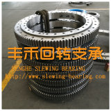 Type de roulement de pivotement, mince de haute qualité, fabriqués en Chine