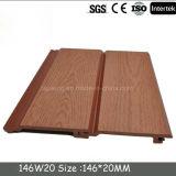 Деревянная пластмасса справляется материалы напольной стены WPC декоративные/деревянное плакирование PE