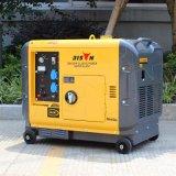 Generatore diesel della prova sana del bisonte 6kw, generatore diesel raffreddato ad aria 7.5 KVA, tipo silenzioso 6.5kw del generatore diesel