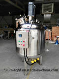 500 het Verwarmen van de liter Elektrische Vloeibare het Mengen zich van het Roestvrij staal Tank