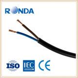 sqmm flexível de cobre do núcleo 1.5 do cabo elétrico 2