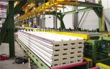 En polyuréthane (PU) Ligne de production de panneaux sandwich
