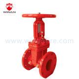 Válvula de porta/válvula industrial para o equipamento da luta contra o incêndio