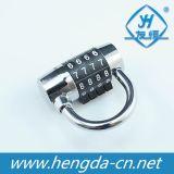 Cadeado do código da bagagem do cadeado da combinação da senha de Yh1205 4 Digitas