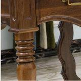 Alta calidad de madera maciza mobiliario de oficina de recepción (como809)