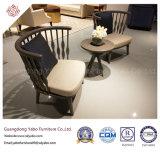 Современный отель с обеденный стул с тканевой обивки (9178)