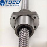 Ballscrew Sfs2010 de la sola tuerca con el funcionamiento sin impedimentos para la punzonadora del CNC
