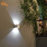 Luz al aire libre impermeable de la pared de la dimensión de una variable cuadrada ahorro de energía IP65 LED
