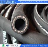 Le boyau hydraulique de basse pression de la surface de tissu la meilleur marché (SAE R3)