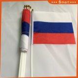 Custom Mini de haute qualité en agitant un drapeau national de la main pour la promotion