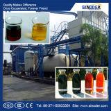 O plástico, fábrica de destilação de óleo de pirólise dos pneus
