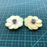 Accessorio 009 dell'indumento del fiore del Sequin
