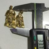Pendant de partie principale de Jésus d'acier inoxydable d'or, pendant Mjhp118 de face de Jésus