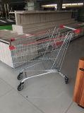 Chariot à achats de caddie de type de carrefour